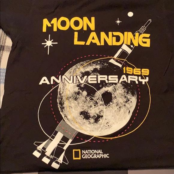 National Geographic Tops - Moon Landing tee